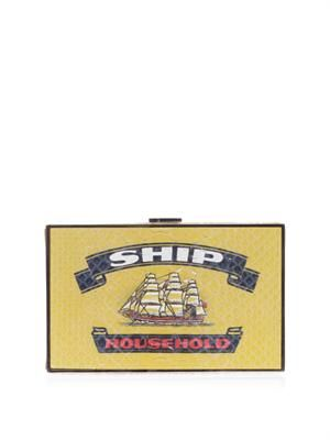 Ship Imperial matchbox clutch