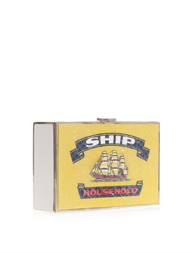 Anya Hindmarch Ship Imperial matchbox clutch