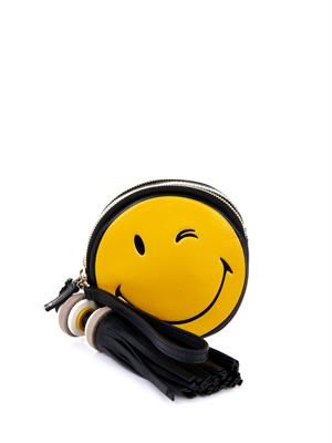 Smiley Hadlow leather clutch