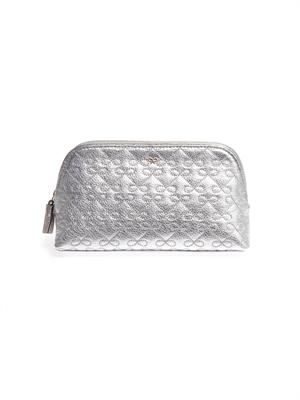 Wilkes leather make up bag