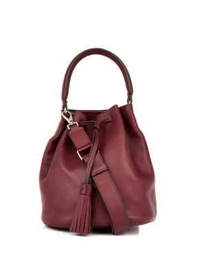 Vaughan leather bucket bag