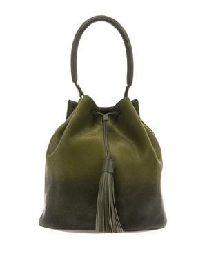 Vaughan dégradé calf-hair bucket bag