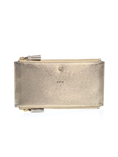 Anya Hindmarch Two-way Spend and Save pouch