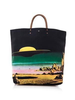 Earl Star Cruiser canvas tote