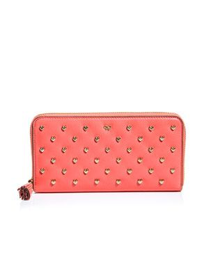 Joss heart studded purse