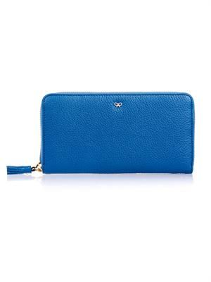Maxi Zip leather wallet