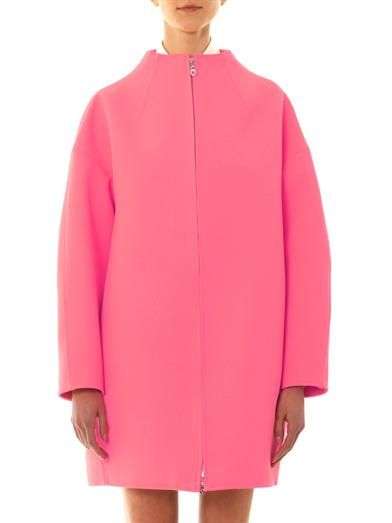 Kenzo Double-faced tech-suiting coat
