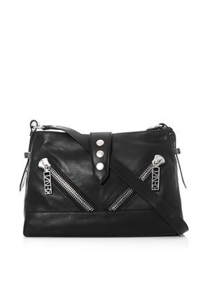 Kalifornia leather shoulder bag