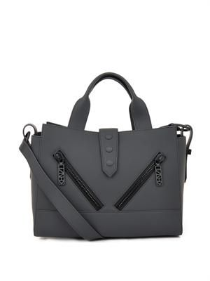 Kalifornia rubberised-leather tote