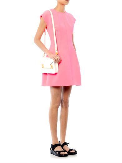 Kenzo Techno-crepe dress