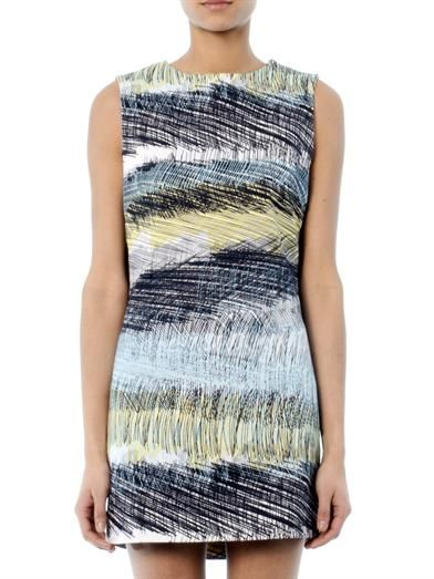 Kenzo Scribbles-print sleeveless dress
