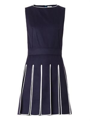 Wool and cashmere-blend dress