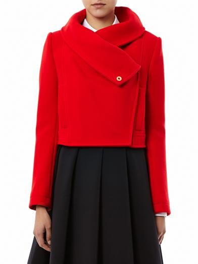 Kenzo Wide collar wool jacket