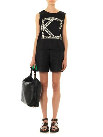 Kenzo Embroidered-K tank top