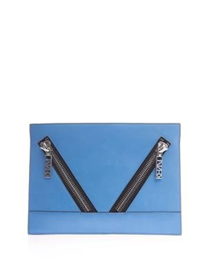 Kalifornia leather clutch