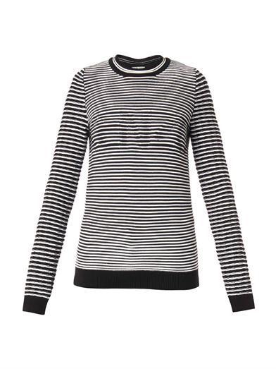 Kenzo Logo ribbed-knit sweater