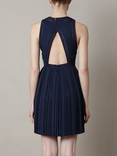 Kenzo Open back dress