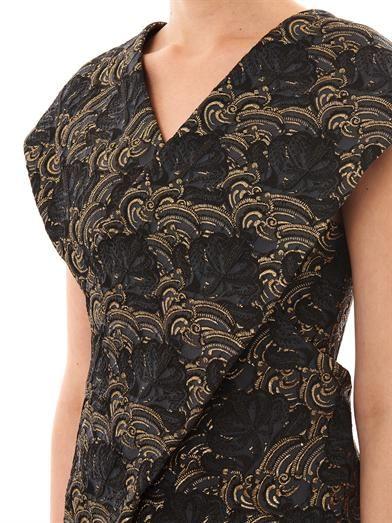 Kenzo Cobra jacquard dress