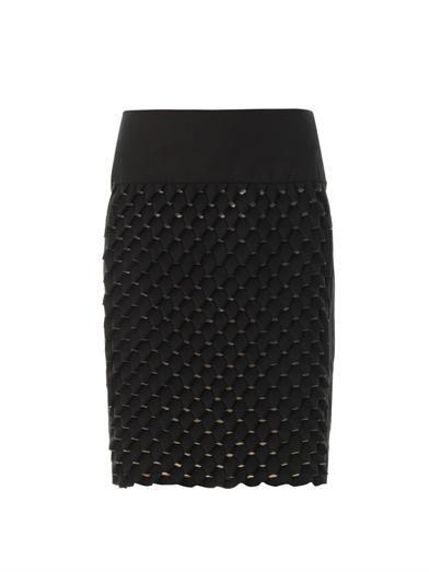 Kenzo Origami-effect skirt