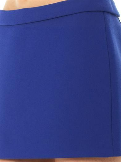 Kenzo Neoprene-crepe mini skirt