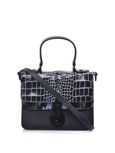 Kenzo Crocodile-embossed cross-body bag