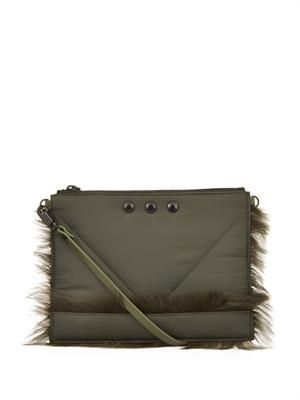 Kalifornia nylon clutch