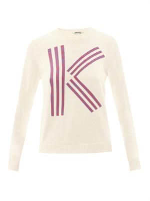 K logo sweater