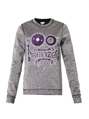 Monster lurex sweatshirt