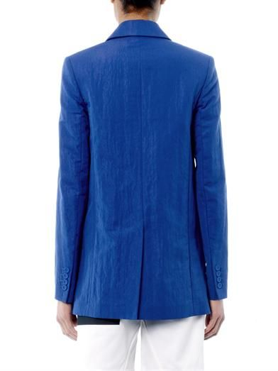 Kenzo Lacquered-cotton jacket