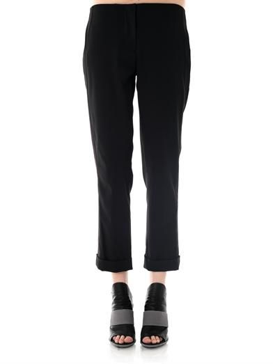 L'Agence Cropped tailored trousers