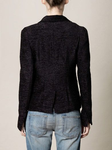 L'Agence Lurex tweed jacket