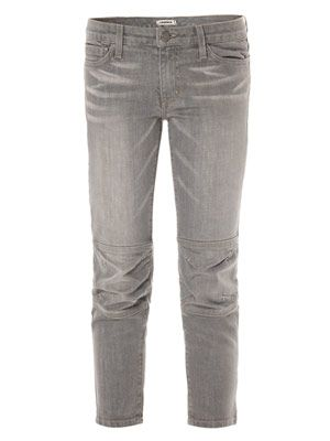 Moto low-rise cropped skinny jean