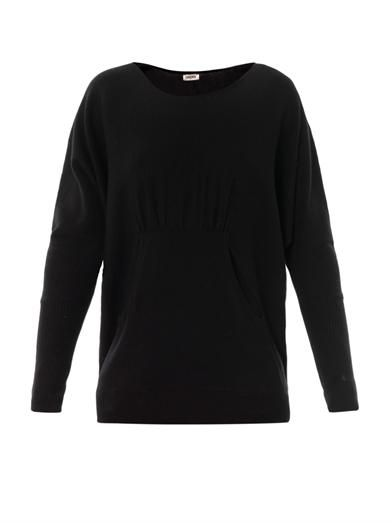 L'Agence Boat-neck wool sweater