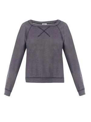Raglan-sleeve sweatshirt