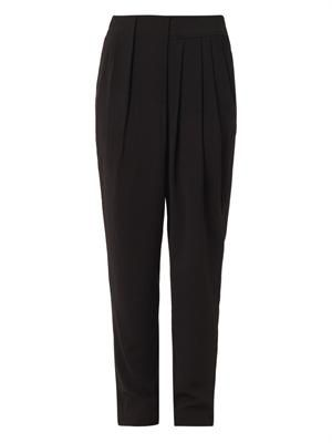 Technical-jersey trousers