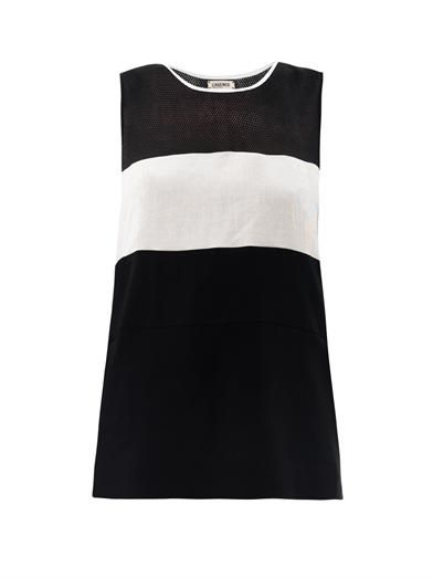 L'Agence Multi-panel sleeveless top