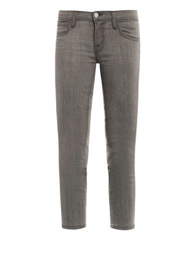 J Brand X Christopher Kane Engineered low-rise skinny jeans