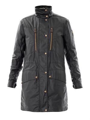 Racemaster waxed-cotton coat