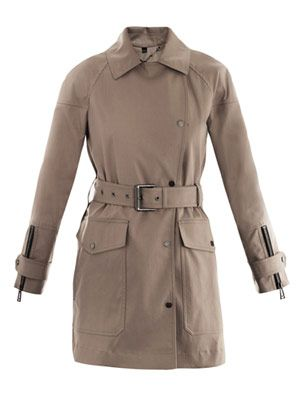 Alscot luxe cotton trench coat