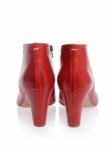 Maison Martin Margiela Open toe ankle boots