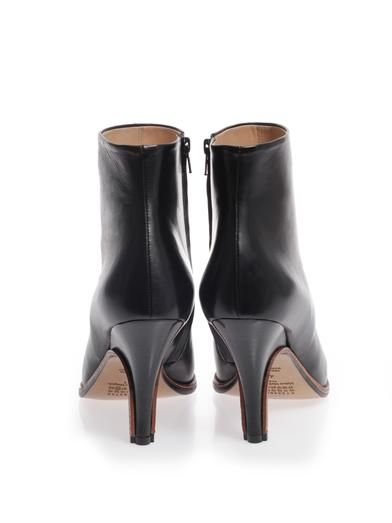 Maison Martin Margiela Point toe ankle boots
