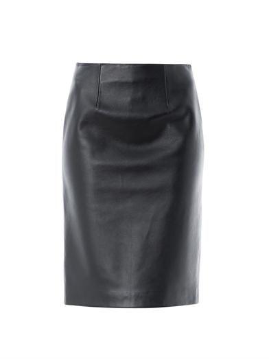 Maison Martin Margiela Leather pencil skirt