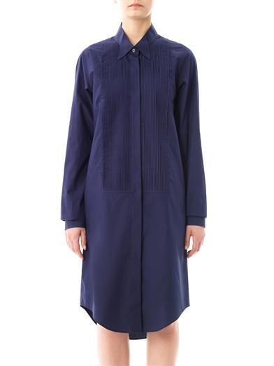 Maison Martin Margiela Tuxedo shirt dress