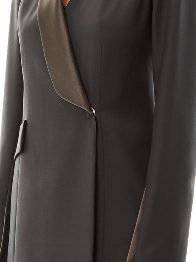 Maison Martin Margiela Tuxedo crepe dress