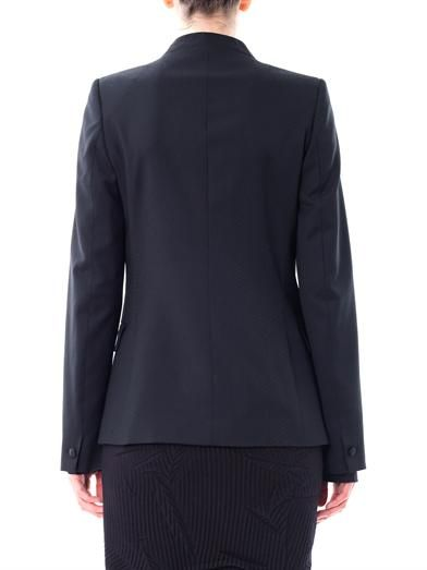 Maison Martin Margiela Circle jacquard wool blazer