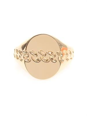Chain-imprint cuff