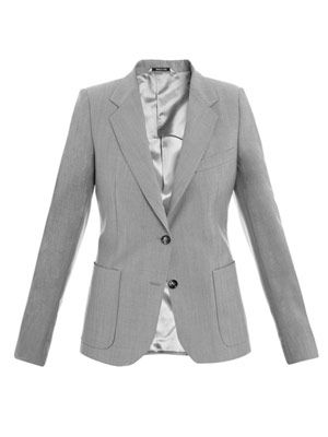 Light wool jacket