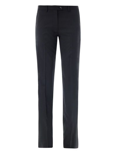 Maison Martin Margiela Circle jacquard wool trousers