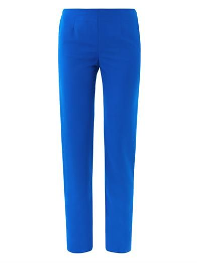 Maison Martin Margiela Skinny wool-blend tailored trousers