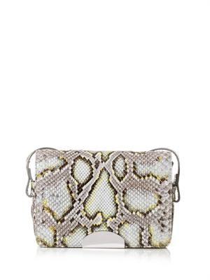 Python cross-body bag